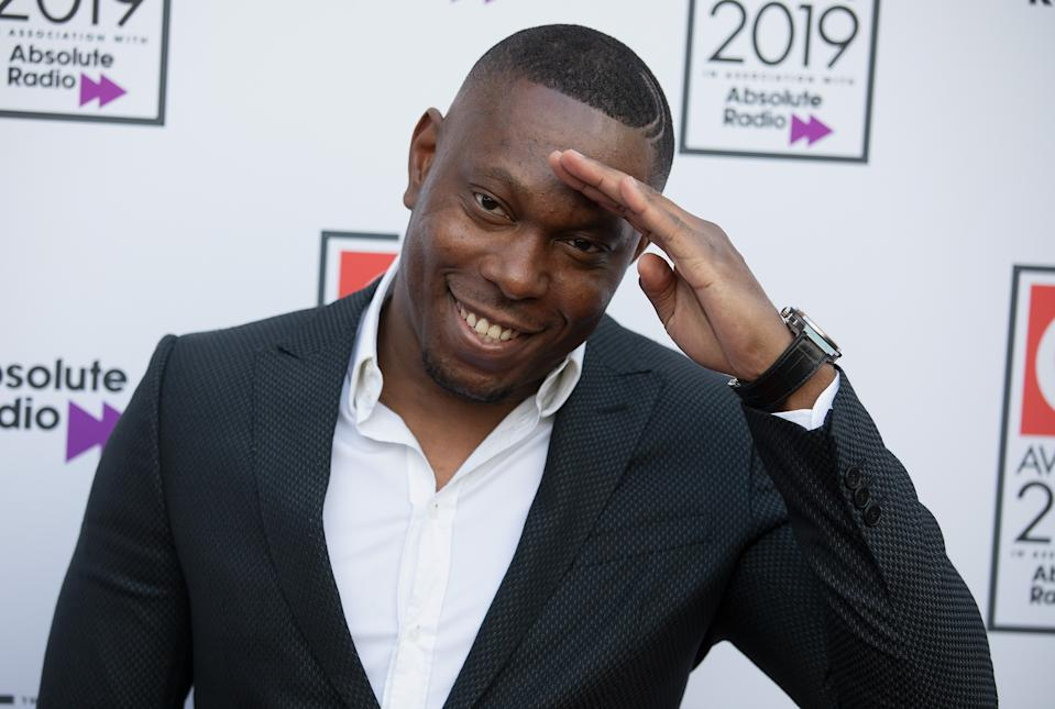 LONDON, ENGLAND - OCTOBER 16: Dizzie Rascal attends the Q Awards 2019 at The Roundhouse on October 16, 2019 in London, England. (Photo by Jo Hale/Redferns)