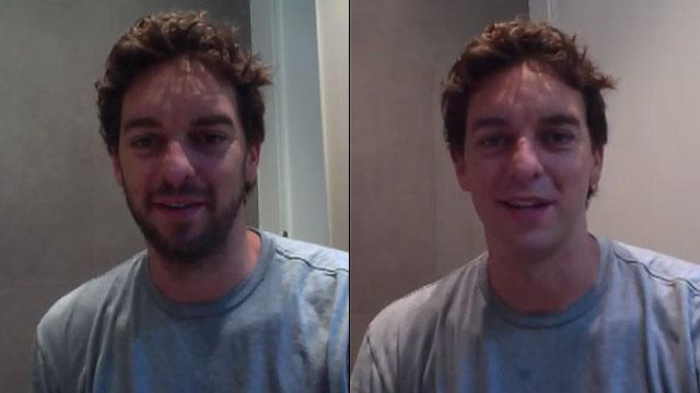 Pau Gasol shaves beard for the first time in nine years