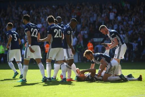 Jake Livermore's stoppage-time goal gives West Brom faint hope of another remarkable Premier League escape act