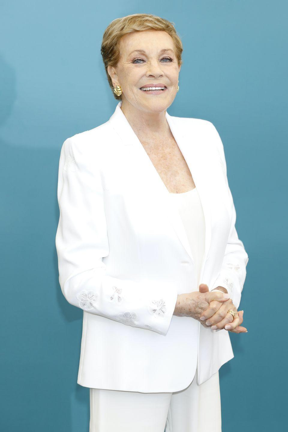<p>Lady Whistledown, who narrates the show and serves as Regency London's most prominent gossip columnist, is rarely seen, but still makes quite the impact. She'll be voiced by Queen Clarisse herself, aka Julie Andrews, who has been working almost exclusively as a voice actor since the early 2000s, with credits including <em>Aquaman</em>, <em>Despicable Me</em>, and three of the four <em>Shrek</em> films.</p>
