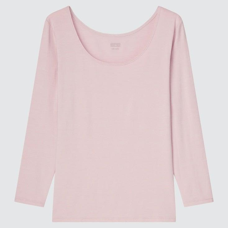 """<h2>Uniqlo Heattech</h2><br>Ask the best fall dressers what their secret to layering without the bulk is and it's likely they'll dish on Uniqlo's Heattech. These super-soft, barely-there pieces slip on like a second skin to instantly create warmth. And if sweat or friction is an issue you're worried about, Uniqlo is already ahead of you — these Heattech base layers are moisture-wicking, have odor control, and are anti-static.<br><br><em>Shop </em><a href=""""https://www.uniqlo.com/us/en/women/innerwear-and-base-layers/undershirts/heattech"""" rel=""""nofollow noopener"""" target=""""_blank"""" data-ylk=""""slk:Uniqlo Heattech"""" class=""""link rapid-noclick-resp""""><em>Uniqlo Heattech</em></a><br><br><strong>Uniqlo</strong> WOMEN HEATTECH SCOOP NECK LONG-SLEEVE T-SHIRT, $, available at <a href=""""https://go.skimresources.com/?id=30283X879131&url=https%3A%2F%2Fwww.uniqlo.com%2Fus%2Fen%2Fwomen-heattech-scoop-neck-long-sleeve-t-shirt-444124.html"""" rel=""""nofollow noopener"""" target=""""_blank"""" data-ylk=""""slk:Uniqlo"""" class=""""link rapid-noclick-resp"""">Uniqlo</a>"""