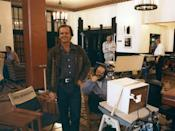 """<p>Nicholson felt a personal connection to the scene in the movie where his character erupts in fury with his wife while in the midst of writer's block. As he told <em><a href=""""https://www.nytimes.com/1986/07/13/magazine/the-creative-mind-acting-the-method-and-mystique-of-jack-nicholson.html"""" rel=""""nofollow noopener"""" target=""""_blank"""" data-ylk=""""slk:The New York Times"""" class=""""link rapid-noclick-resp"""">The New York Times</a> </em>in 1986: """"That scene at the typewriter - that's what I was like when I got my divorce. I was under the pressure of being a family man with a daughter and one day I accepted a job to act in a movie in the daytime and I was writing a movie at night and I'm back in my little corner and my beloved wife, Sandra, walked in on what was, unbeknownst to her, this maniac - and I told Stanley [ Kubrick ] about it and we wrote it into the scene.""""</p>"""
