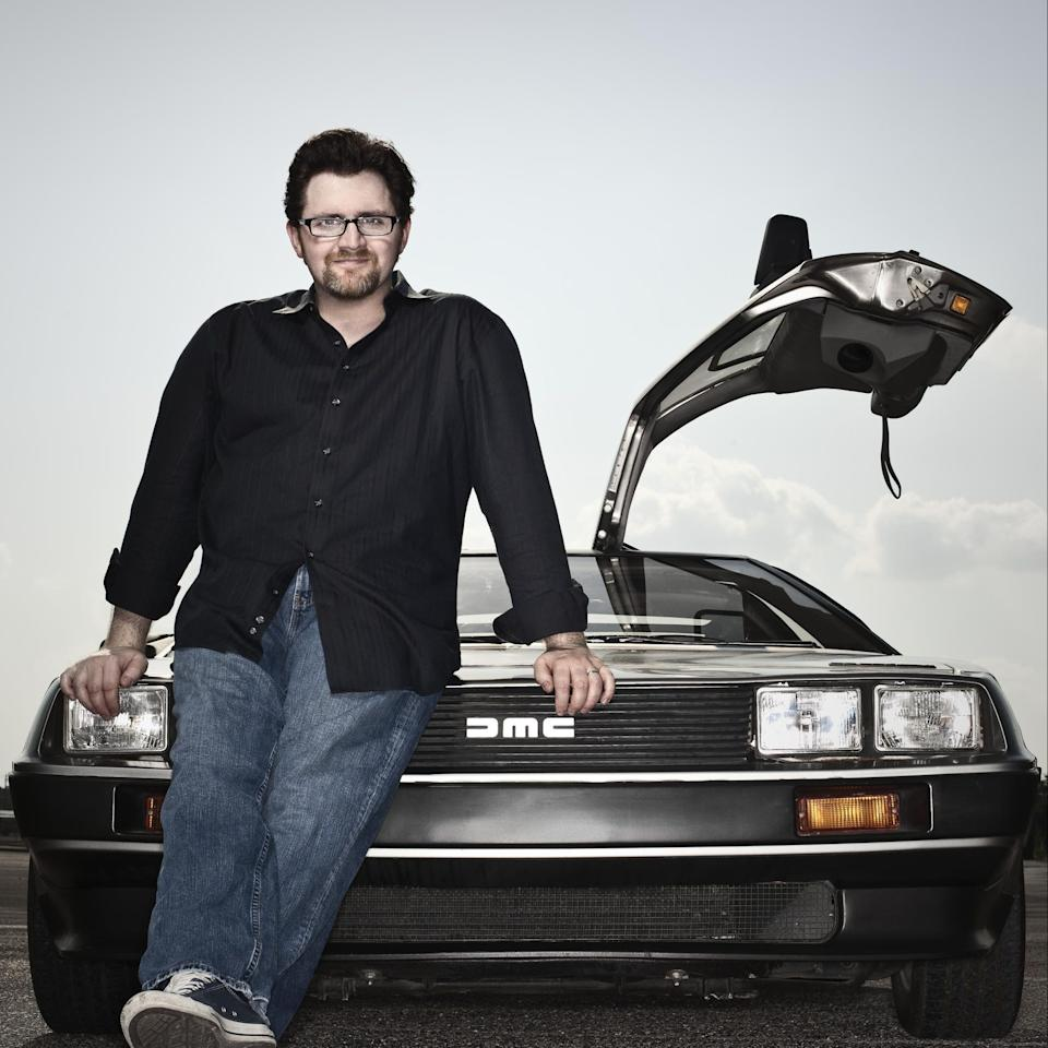 Ernest Cline was catapulted to stardom by the success of Ready Player One - Dan Winters