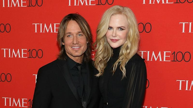Nicole Kidman and Keith Urban - the proud new parents of a puppy - attend the Time 100 gala in 2017