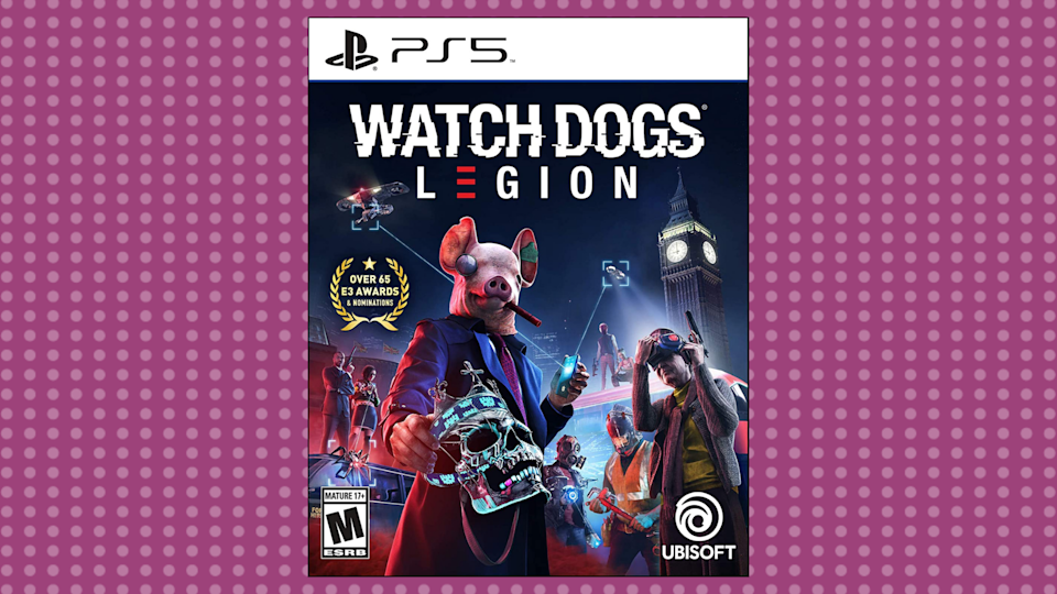 Save 50 percent on Watch Dogs: Legion for PlayStation 5. (Photo: Amazon)