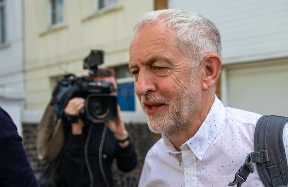 <em>The Labour leader has been accused of being an anti-Semite for various comments unearthed over summer (Rex)</em>