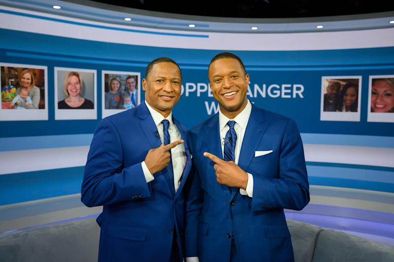 TODAY -- Pictured: Craig Melvin doppelganger on Thursday, February 7, 2019 -- (Photo by: Nathan Congleton/NBCU Photo Bank/NBCUniversal via Getty Images via Getty Images)