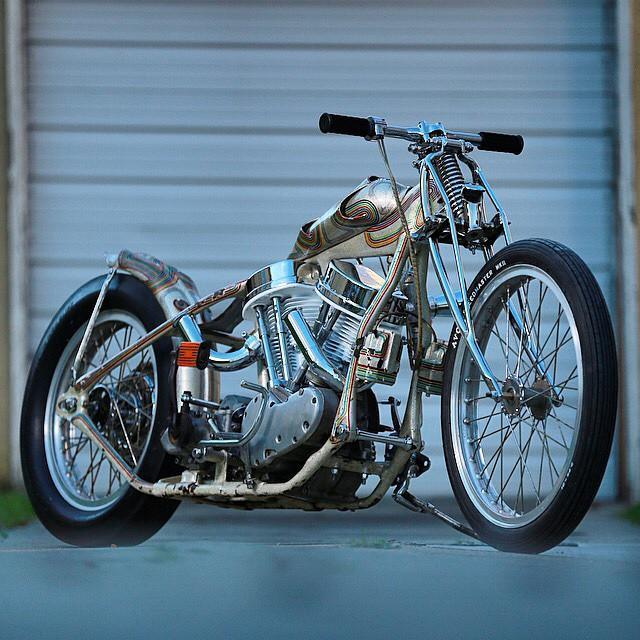 Come and see this @3gknuck stunner at #mamatriedshow this weekend. Thx for bringing it Ryan! Photo from Mama Tried Motorcycle Show