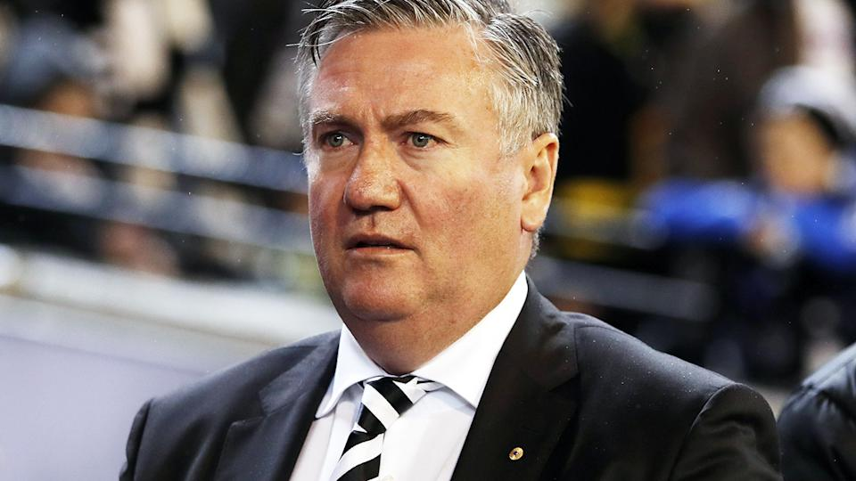 Eddie McGuire, pictured here during a Collingwood game last July.