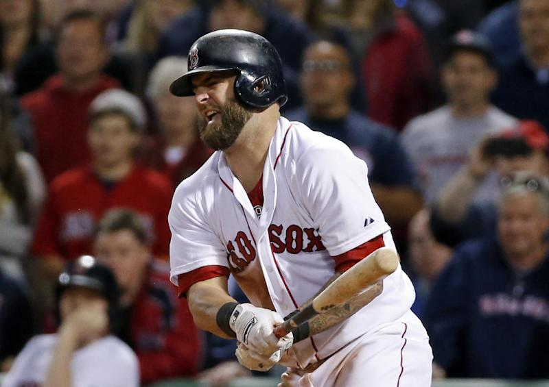 Red Sox put Napoli on DL with finger injury
