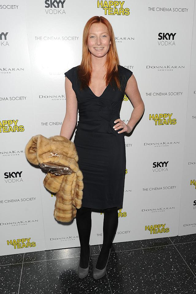 """Maggie Rizer at the New York Cinema Society screening of <a href=""""http://movies.yahoo.com/movie/1810027690/info"""">Happy Tears</a> - 02/16/2010"""