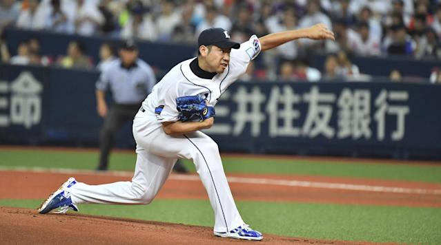 Japanese pitcher Yusei Kikuchi has a lot of big-league potential. (SI)