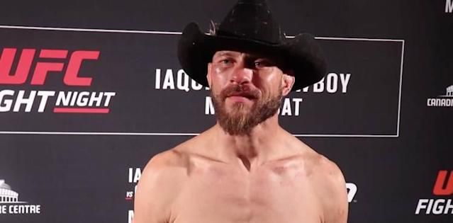 Donald Cowboy Cerrone UFC Ottawa post scrum