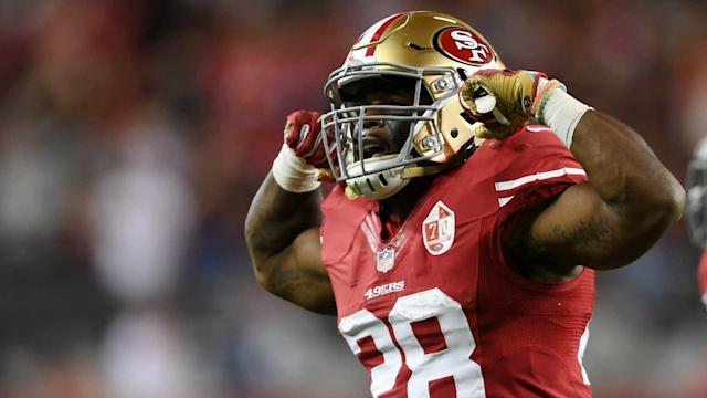 Carlos Hyde was feeling very confident after the 49ers' 44-33 win over the Jaguars Christmas Eve.