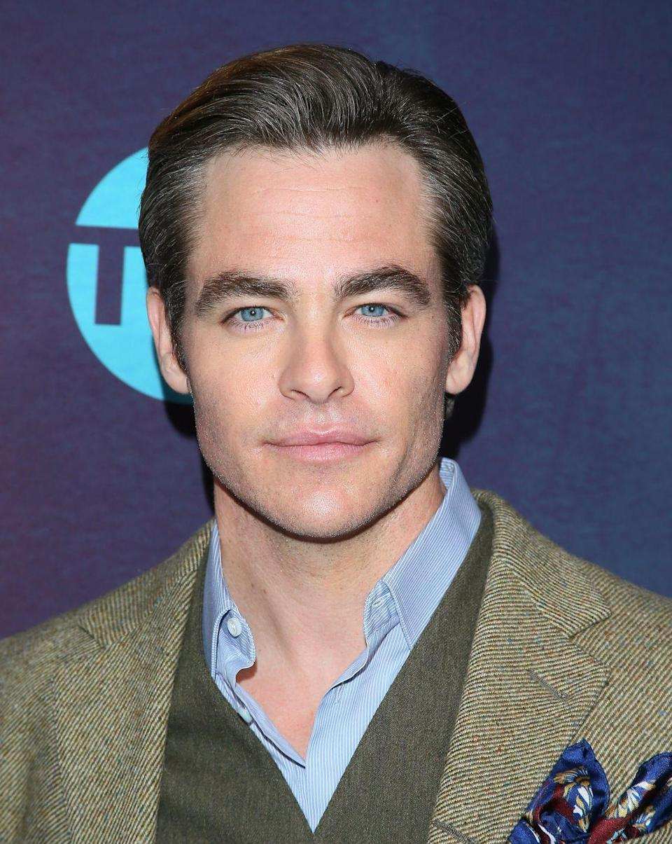 <p>But Pine gave us something we didn't even know we needed when he debuted just a hint of silver around his hairline at the premiere of <em>I Am the Night</em>. </p>