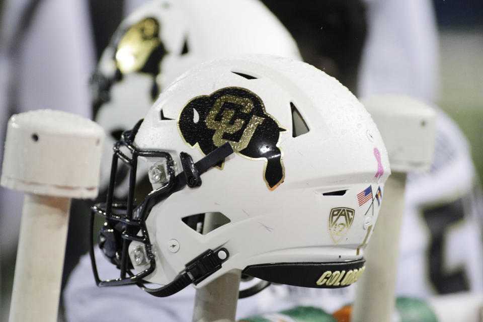 A Colorado helmet