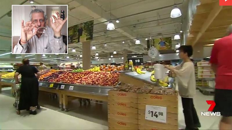 Mr Dhody said he will take Coles to court if they refuse to fork out $50,000. Source: 7 News