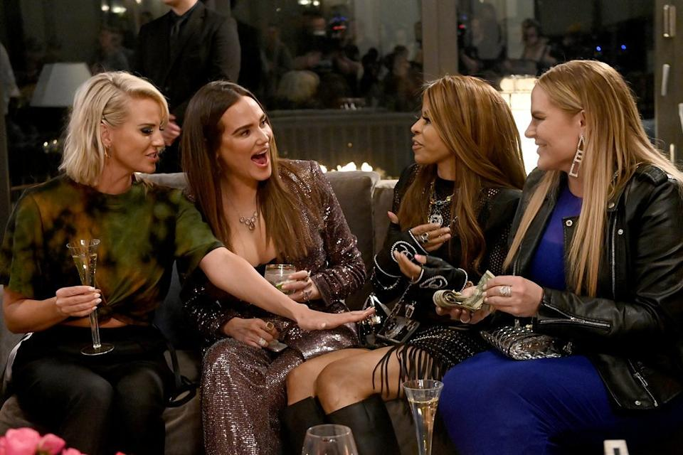 """Whitney Rose, Meredith Marks, Mary Cosby and Heather Gay in """"The Real Housewives of Salt Lake City."""""""