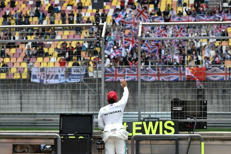 Lewis Hamilton won the Chinese Grand Prix in 2019 but the race has been postponed this year because of the coronavirus