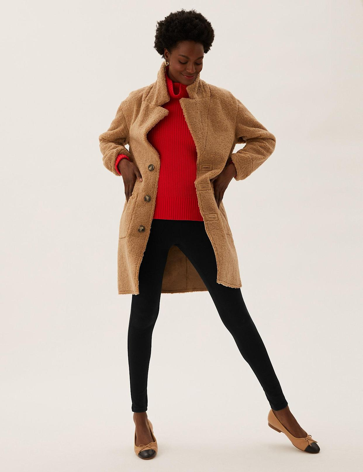 The jeggings are the perfect winter wardrobe addition. (Marks & Spencer)