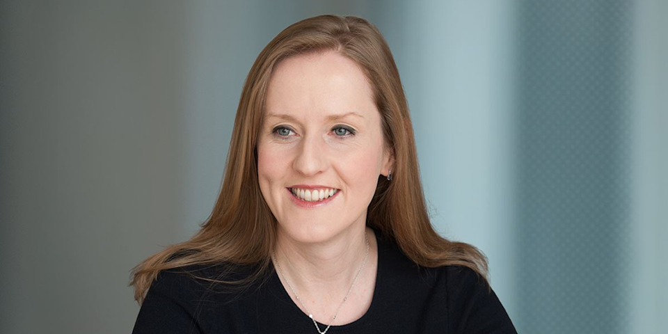 Mairéad Nayager, chief HR officer, Diageo