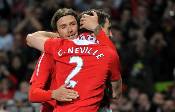 'Thank you Eric' - Neville and Beckham's emotional tribute to mentor Harrison ahead of funeral