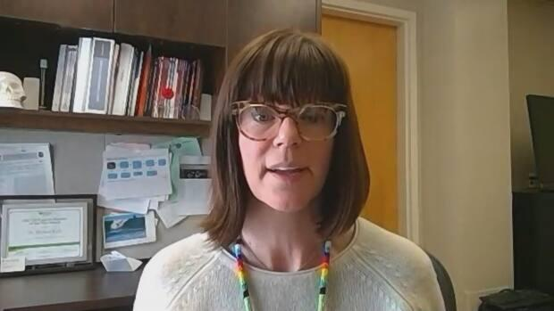 Dr. Susan Shaw said she's cautiously optimistic after a drop in new COVID-19 cases.  (Zoom - image credit)