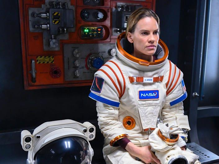 Hilary Swank in Netflix's Away TV show