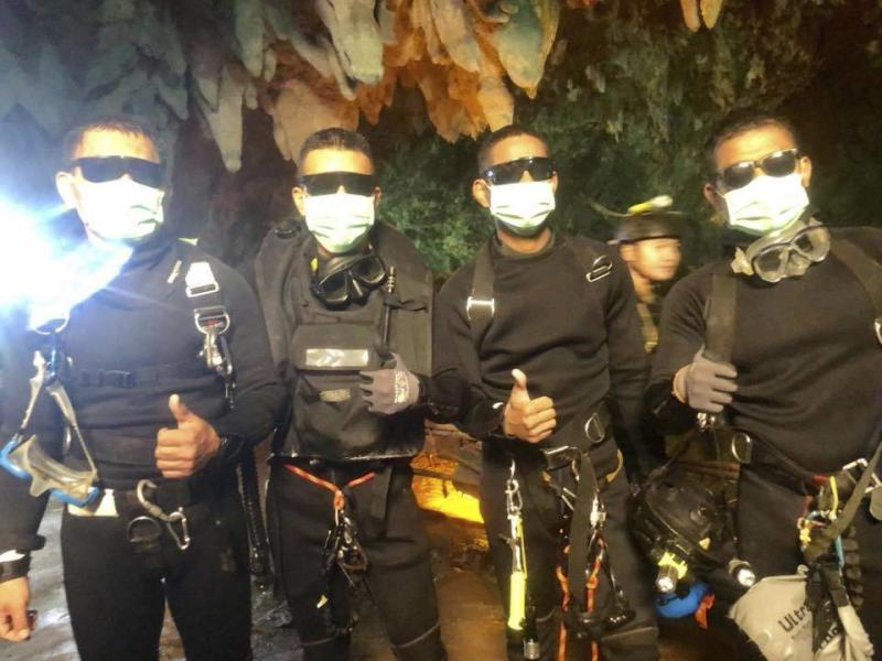 'We are not heroes', says United Kingdom  diver involved in Thai cave rescue