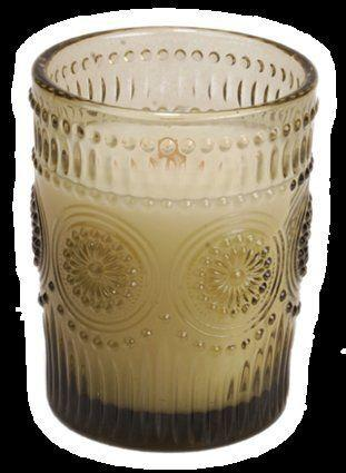 """This candle comes in a lovely container that looks like a vintage-store find. And yes, it smells like a cozy fireplace, too. But that&rsquo;s not the best part &mdash; it also sounds like that fireplace, thanks to a wick made of wood. <a href=""""https://www.thelampstand.com/woodwick-candle-vintage-glass-jar-medium-fireside.html"""" target=""""_blank"""">Get it here.</a>"""