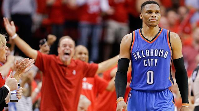 OKLAHOMA CITY (AP) Russell Westbrook is fine with getting fined.