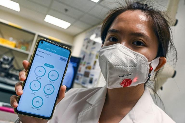 Tech companies are looking to cash in on the growing trend of mask-wearing while also helping guard against coronavirus