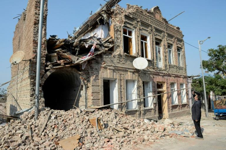 Shelling and rocket fire has damaged many civilian areas on both sides of the front line in Nagorno-Karabakh, like in Azerbaijani city Ganja