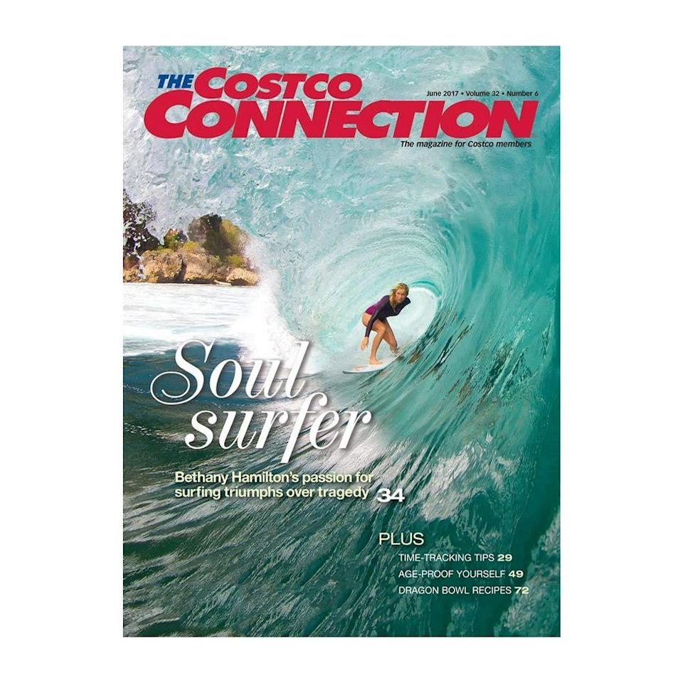 """<p>There's a Costco magazine, and it has a larger circulation than any other in the U.S. <a href=""""https://www.foliomag.com/print-offers-big-rewards-membership-models/"""" rel=""""nofollow noopener"""" target=""""_blank"""" data-ylk=""""slk:Almost 13 million people"""" class=""""link rapid-noclick-resp"""">Almost 13 million people</a> receive <em>Costco Connection</em> each month, and it continues to thrive when traditional print is in decline.</p>"""