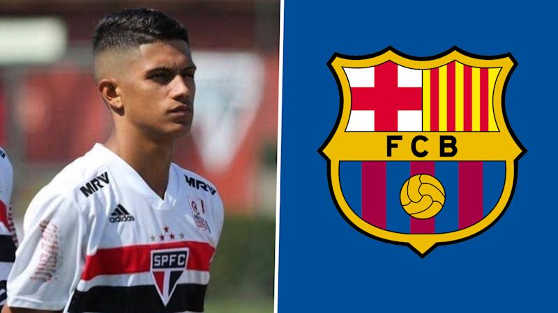 FC Barcelona confirms the signing of Gustavo Maia from Sao Paolo