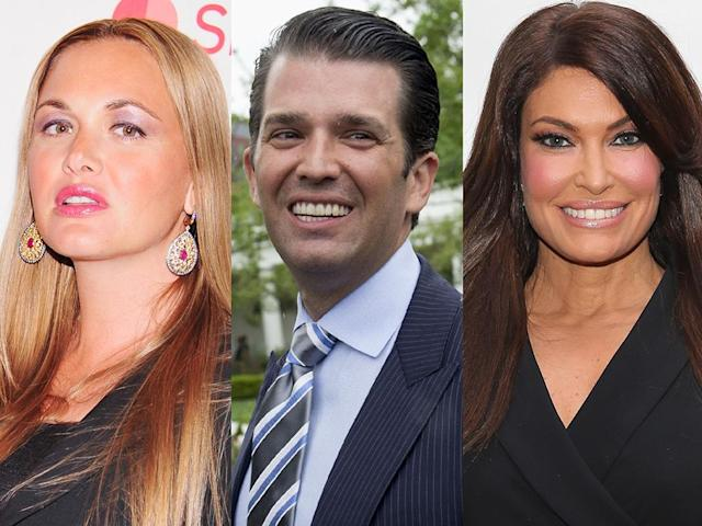 Vanessa Trump, Donald Trump Jr., and Kimberly Guilfoyle. (Photo: Getty Images)