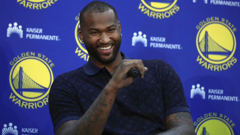 DeMarcus Cousins has plenty of reason to be happy with his landing spot, but he and his new Warriors teammates will have some things to figure out on the court.