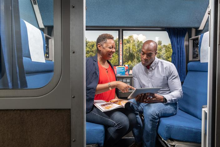 Consider a roomette for your next Amtrak trip.