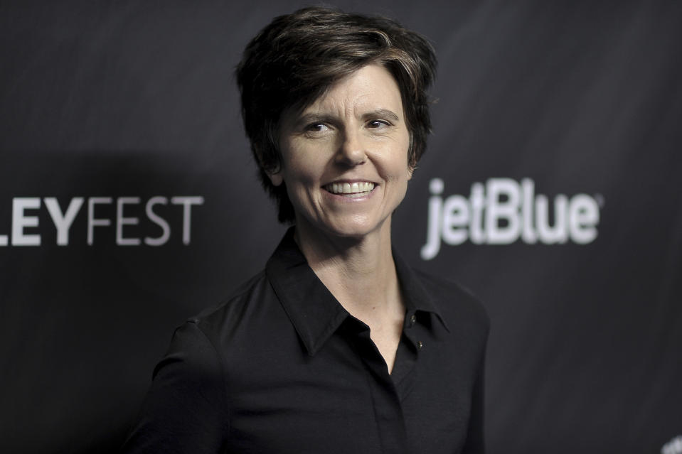"Tig Notaro attends the 36th Annual PaleyFest ""Star Trek: Discovery and The Twilight Zone"" at the Dolby Theatre on Sunday, March 24, 2019, in Los Angeles. (Photo by Richard Shotwell/Invision/AP)"