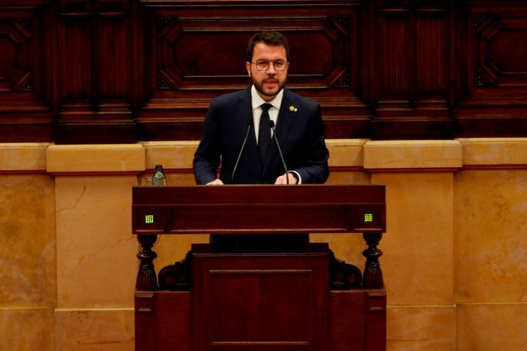 Pere Aragones has asked Madrid to organise an independence referendum