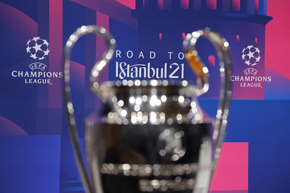 <p>The Champions League would be left behind by the major clubs</p> (Getty)