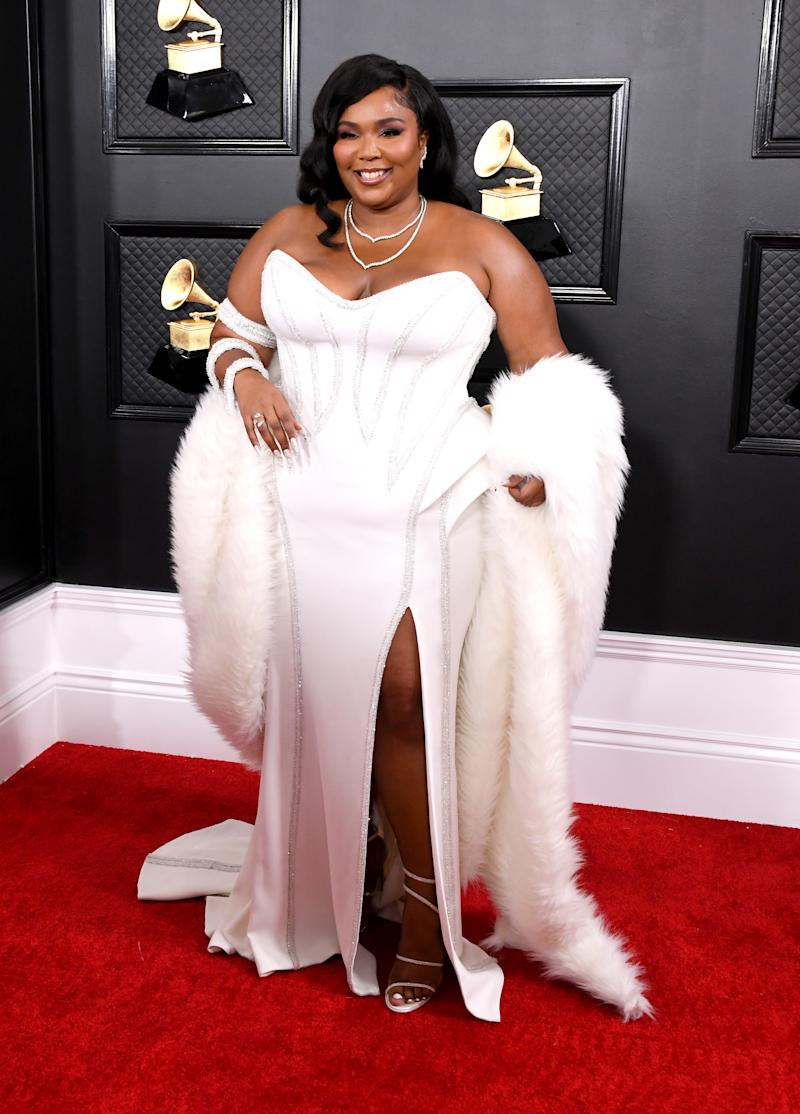Lizzo attends the 62nd Annual GRAMMY Awards at Staples Center on January 26, 2020 in Los Angeles, California. (Photo by Jon Kopaloff/FilmMagic)