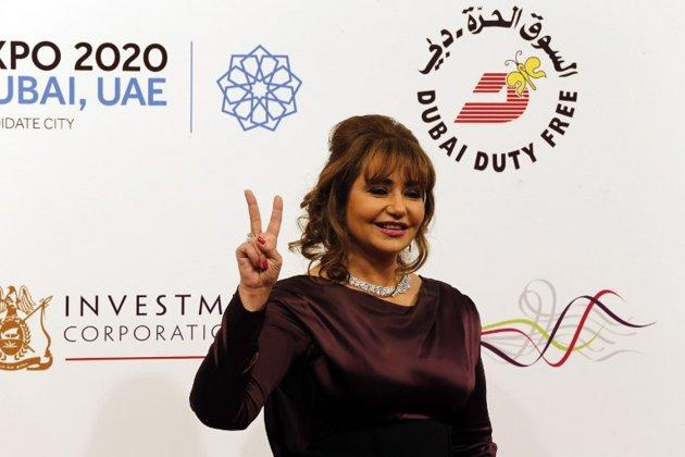 Egyptian actress Layla Elwi attended the closing ceremony of Dubai's International Film Festival.