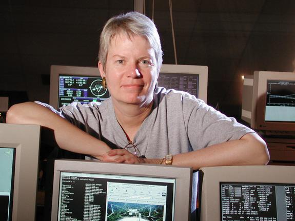 Astronomer Dr. Jill Tarter, longtime director of the Center for SETI Research at the SETI Institute, and also holder of the Bernard M. Oliver Chair for SETI.