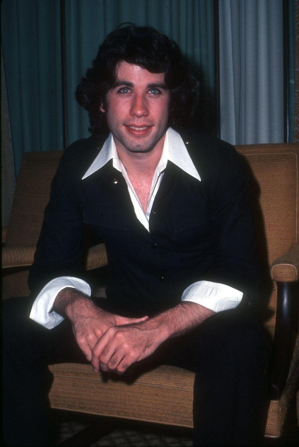 "<p>First movie: After a handful of television roles, John Travola's first movie role was in the 1975 film <a href=""https://www.imdb.com/title/tt0072869/"" rel=""nofollow noopener"" target=""_blank"" data-ylk=""slk:The Devil's Rain"" class=""link rapid-noclick-resp"">The Devil's Rain</a>. A horror film, The Devil's Rain follows the revenge of a deceased satanist cult leader. Travolta was 21 years old when the film was released.</p>"