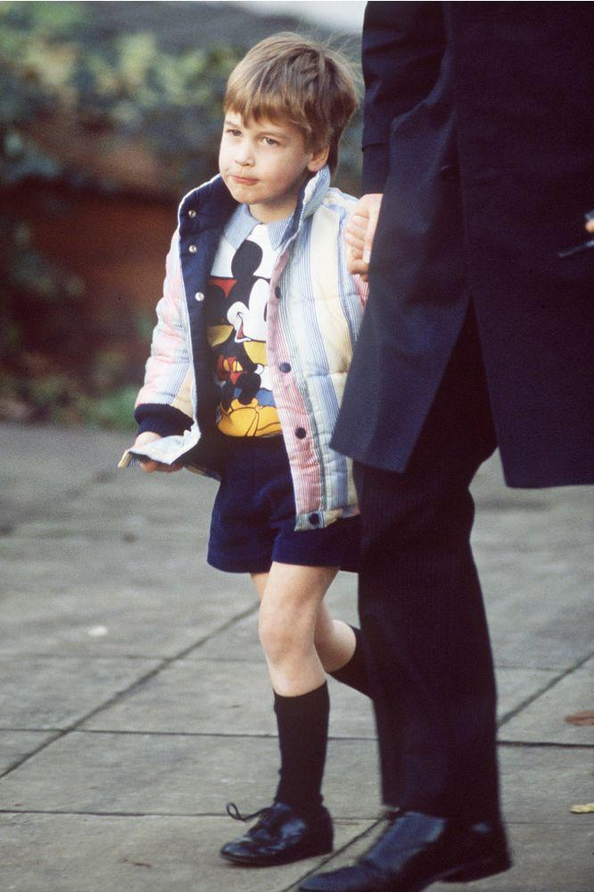 Prince William in 1986