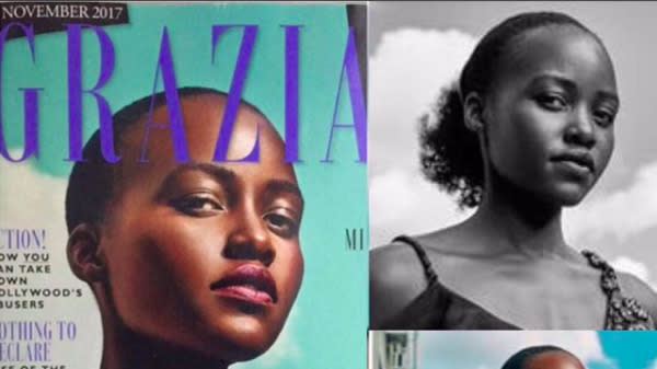 A Magazine Edited Lupita Nyong'o's Hair And She Is Not Pleased