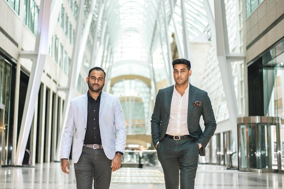 Expansion mission: (L to R) Travis Ratnam, CEO and Qamar Qureshi, President and Chief Business Officer at Knowledgehook