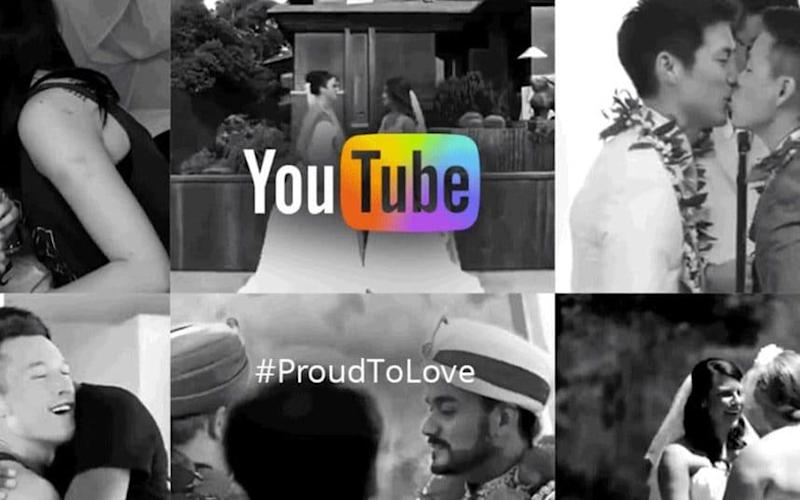 YouTube Spotlight, YouTube's official channel, posted in 2015 a video 'celebrating Marriage Equality and LGBT Pride Month', it is currently among the 'restricted' content - YouTube Spotlight