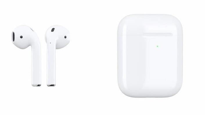 water resistant apple airpods airpods2 charging case on
